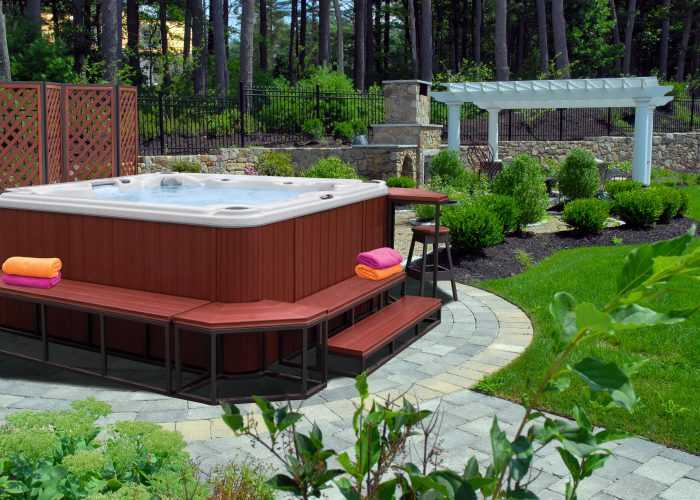 Creating Private Portable Spa Retreat
