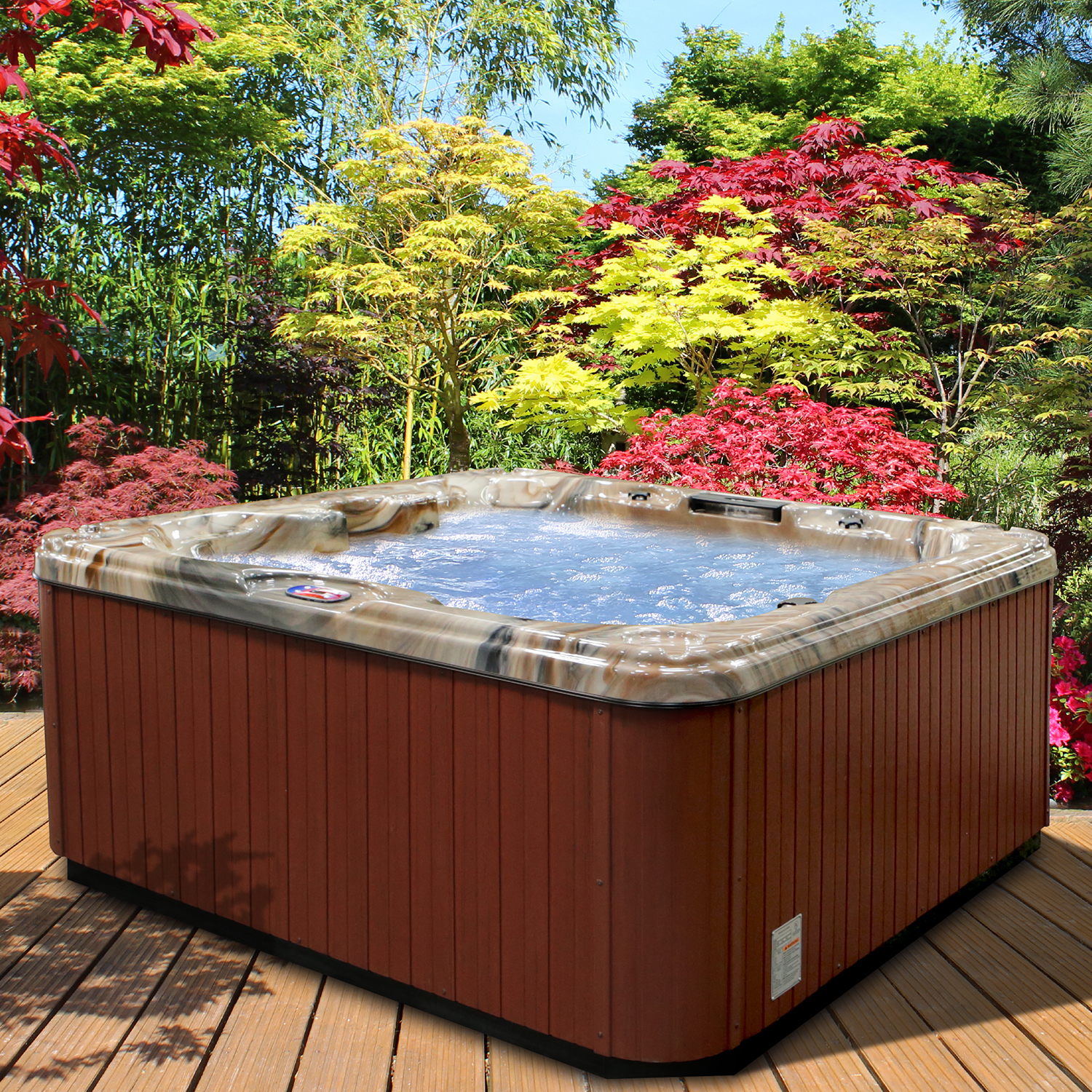 American Spas your Garden Centerpiece
