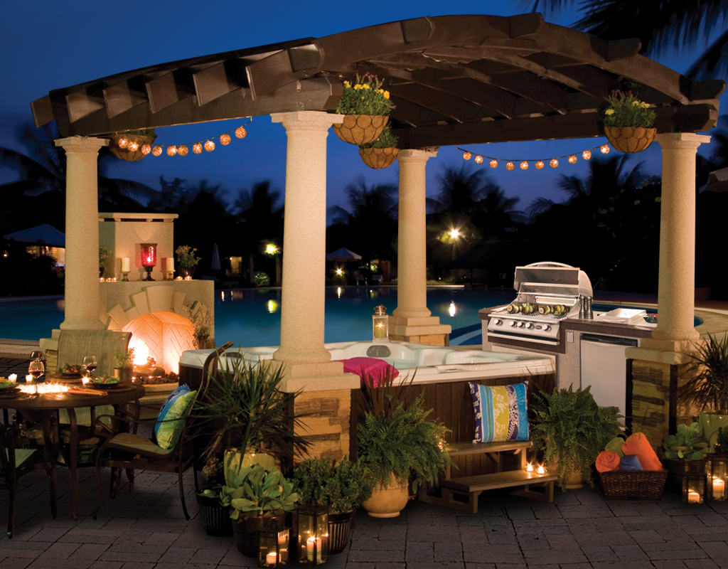 American Spas Expands your outdoor Space